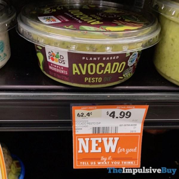 Good Foods Avocado Pesto Dip