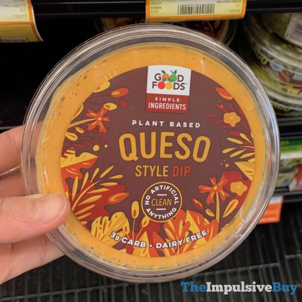 Good Foods Queso Style Dip