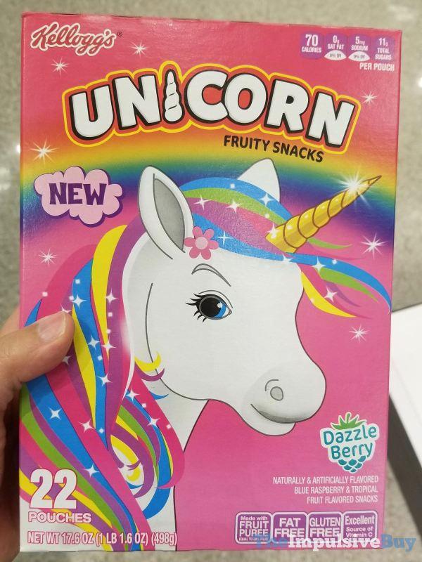 Kellogg s Unicorn Fruity Snacks