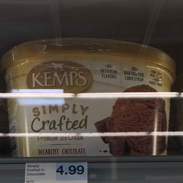 Kemps Simply Crafted Decadent Chocolate Ice Cream