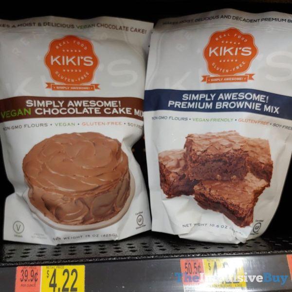 Kiki s Simply Awesome Vegan Chocolate Cake Mix and Premium Brownie Mix