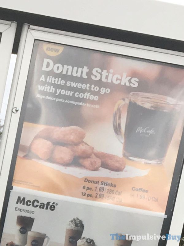 McDonald s Donut Sticks