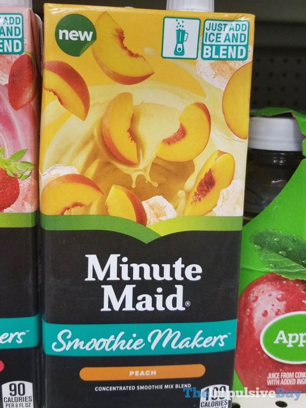 Minute Maid Smoothie Makers Peach