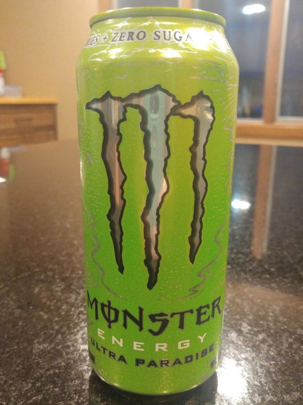 SPOTTED: Monster Ultra Paradise Energy Drink - The Impulsive Buy