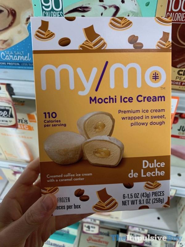 My Mo Dulce de Leche Mochi Ice Cream