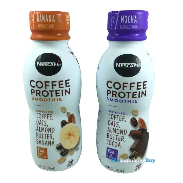 Nescafe Coffee Protein Smoothies