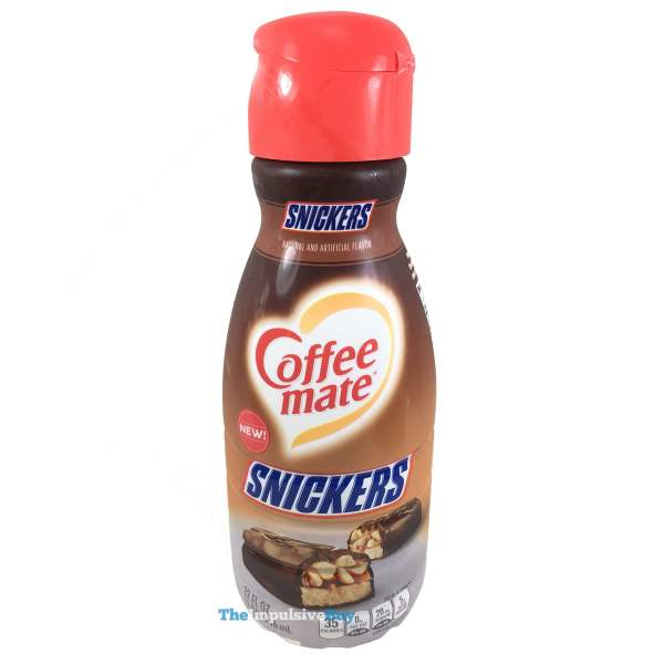 Nestle Coffee mate Snickers Creamer