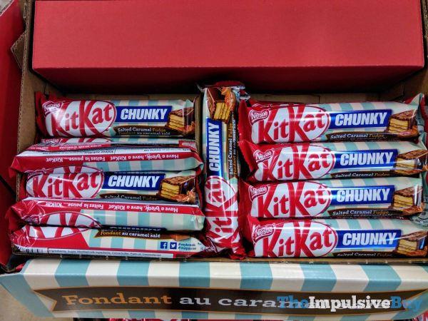 Nestle Kit Kat Chunky Salted Caramel Fudge
