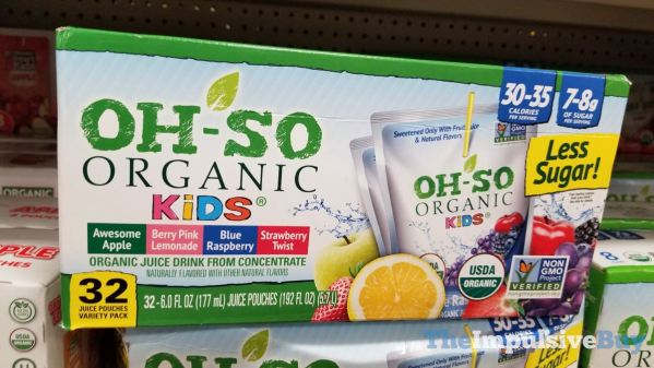 Oh So Organic Kids Variety Pack