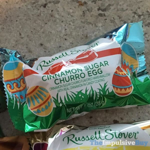 Russell Stover Cinnamon Sugar Churro Egg