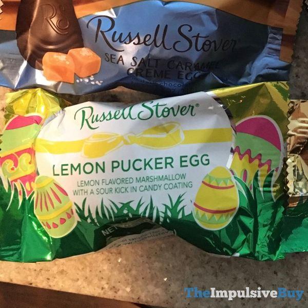 Russell Stover Lemon Pucker Egg