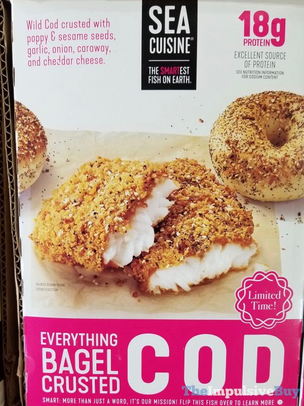 Sea Cuisine Everything Bagel Crusted Cod