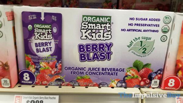Smart Kids Organic Berry Blast Pouches