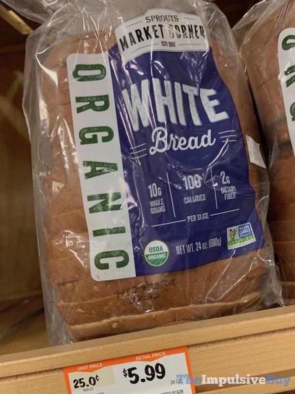 Sprouts Market Corner Organic White Bread