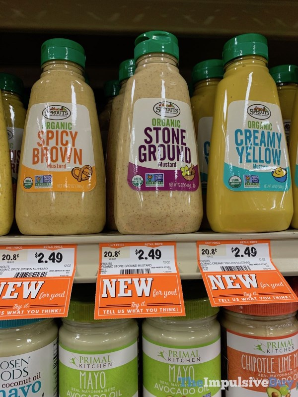 Sprouts Organic Mustards