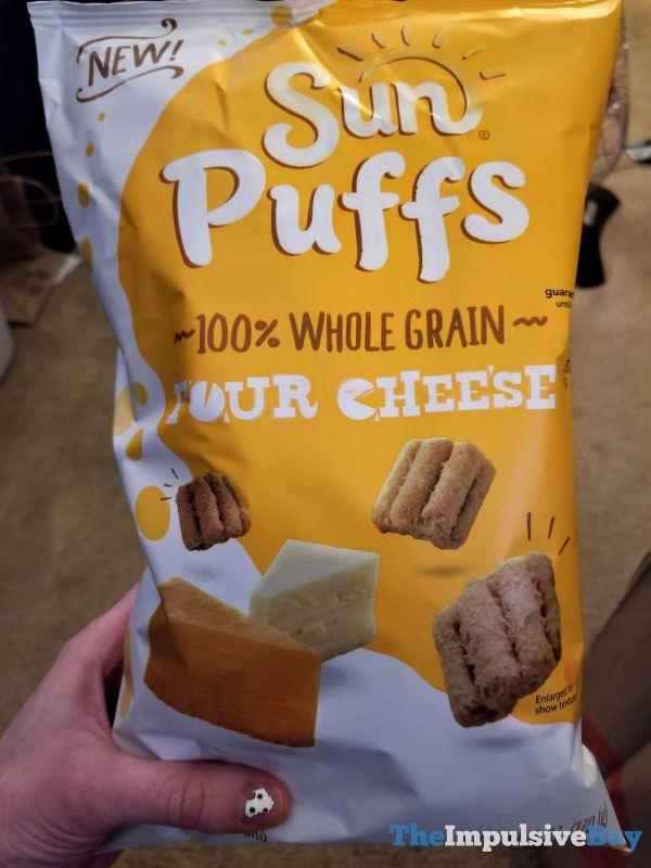 Sun Puffs Four Cheese