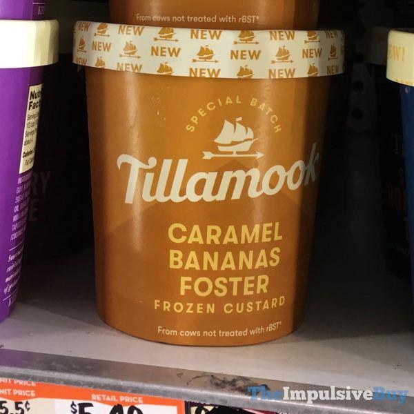 Tillamook Special Batch Caramel Bananas Foster Frozen Custard