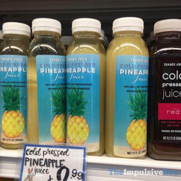 Trader Joe s Cold Pressed Pineapple Juice