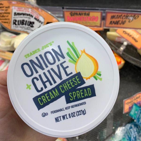 Trader Joe s Onion Chive Cream Cheese Spread