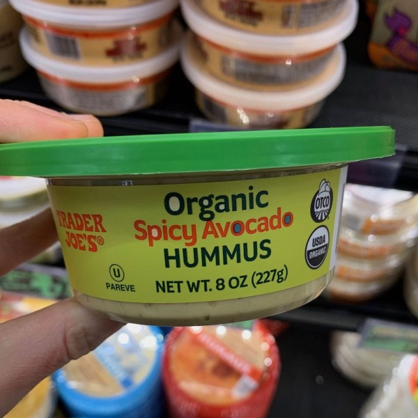 Trader Joe s Organic Spicy Avocado Hummus