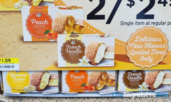 7 Select Peach and French Vanilla Snack Pie