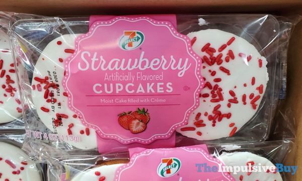 7 Select Strawberry Cupcakes