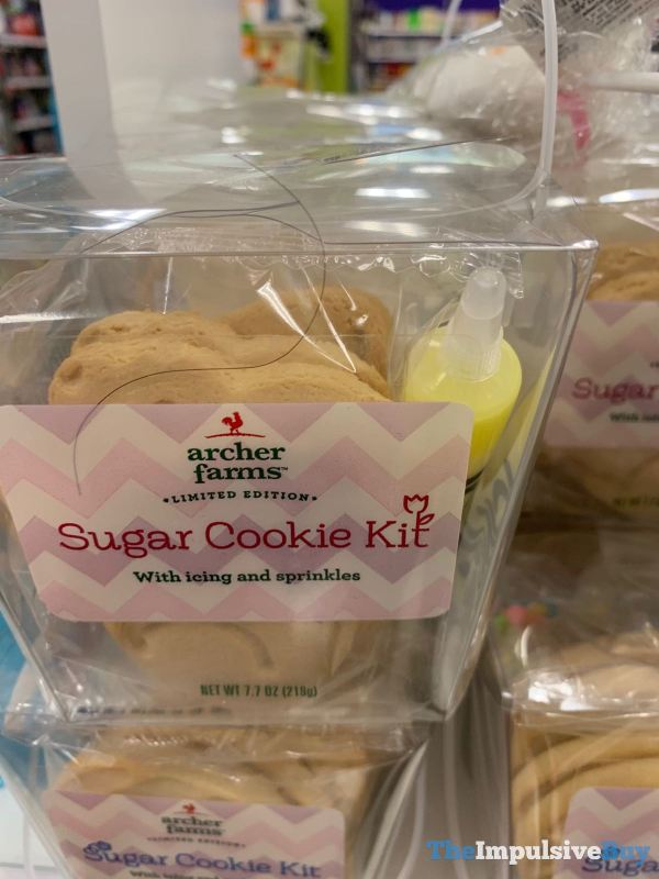 Archer Farms Limited Edition Sugar Cookie Kit