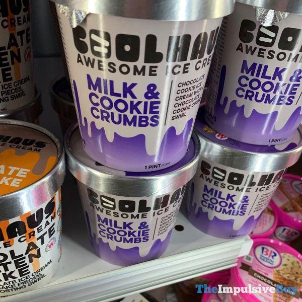 Coolhaus Milk  Cookie Crumbs Ice Cream  1