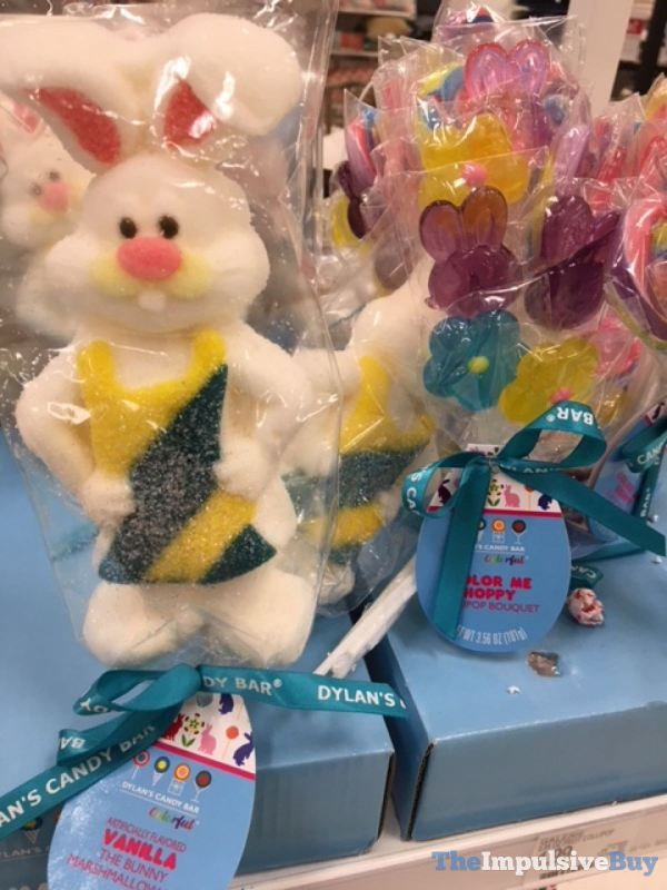 Dylan s Candy Bar Vanilla The Bunny Marshmallow and Color Me Hoppy Lollipop Bouquet