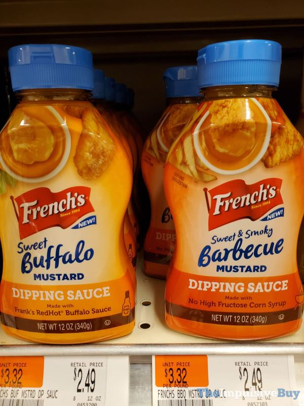 French s Sweet Buffalo Mustard and Barbecue Mustard