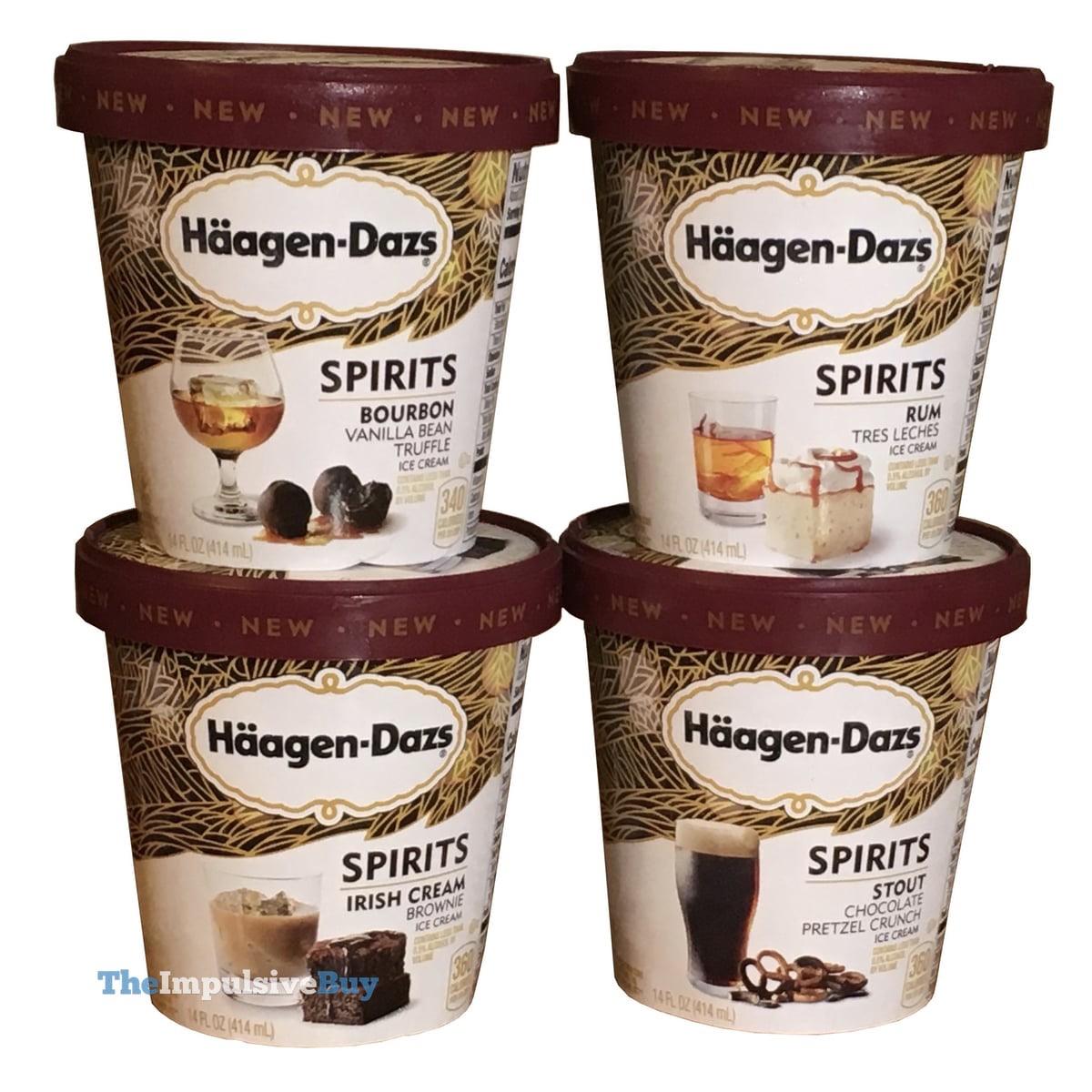 REVIEW: Haagen-Dazs Spirits Collection Ice Cream (U.S.) - The Impulsive Buy