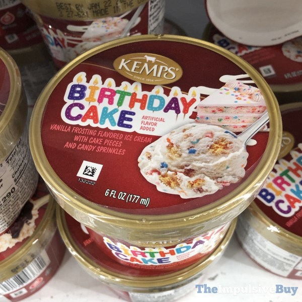 Kemps Birthday Cake Ice Cream