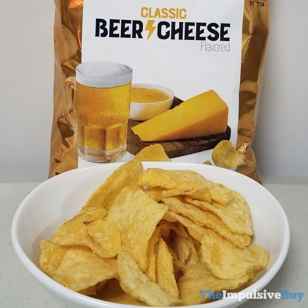 Lay s Turn Up the Flavor Classic Beer Cheese Potato Chips