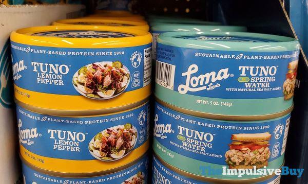 Loma Linda Tuno Lemon Pepper and in Spring Water