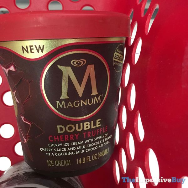 Magnum Double Cherry Truffle Tub