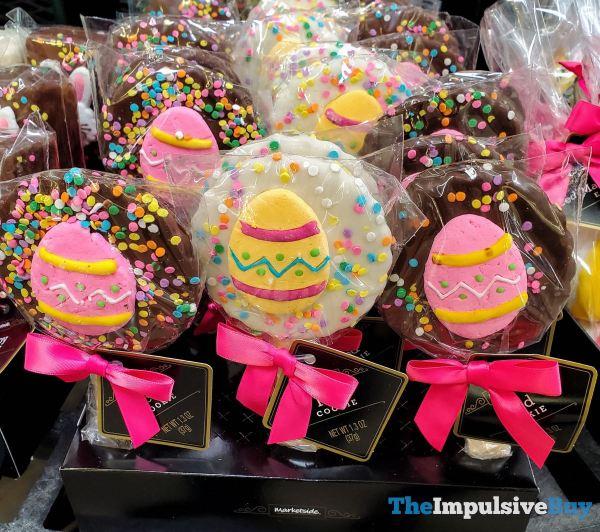 Marketside Easter Egg Iced Cookies