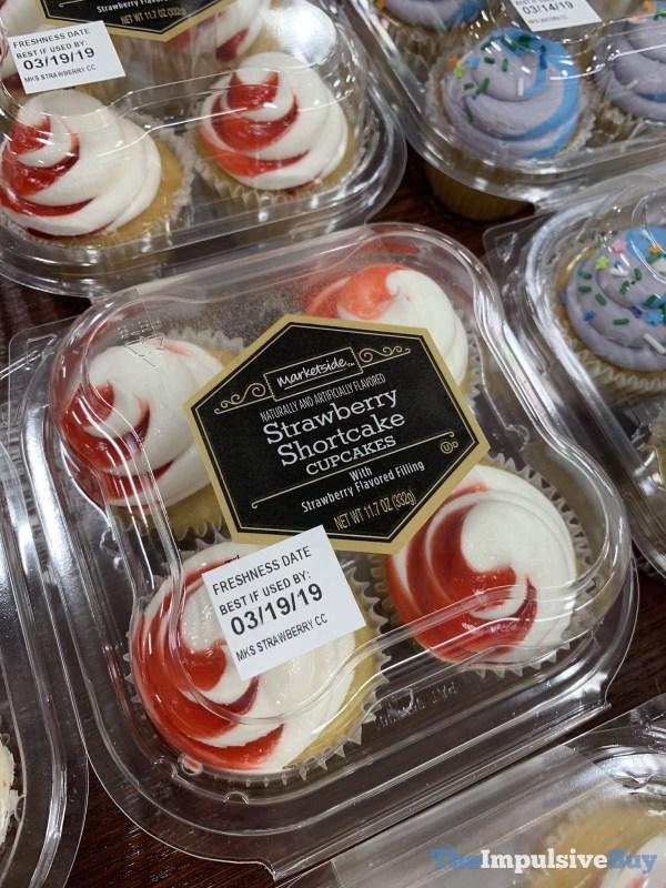 Marketside Strawberry Shortcake Cupcakes