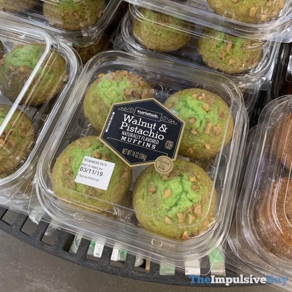 Marketside Walnut  Pistashio Muffins