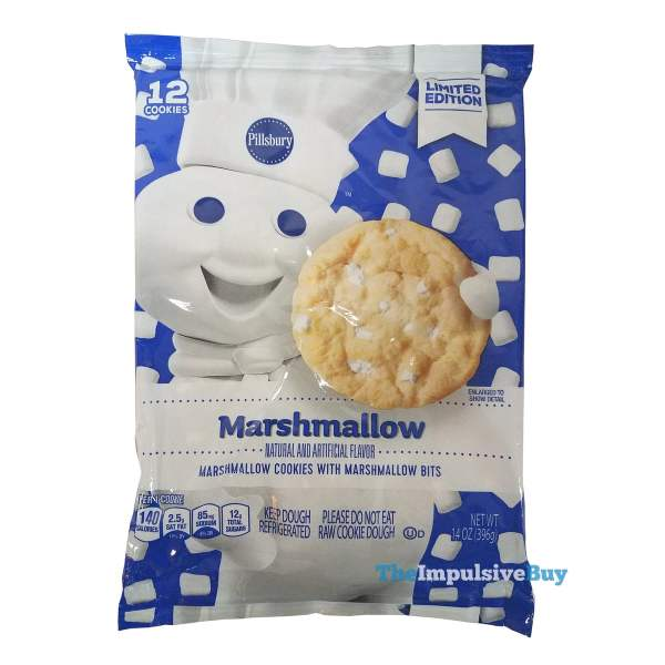 Pillsbury Limited Edition Marshmallow Cookies with Marshmallow Bits