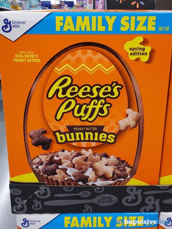 Reese s Puffs Bunnies 2019 Box Design