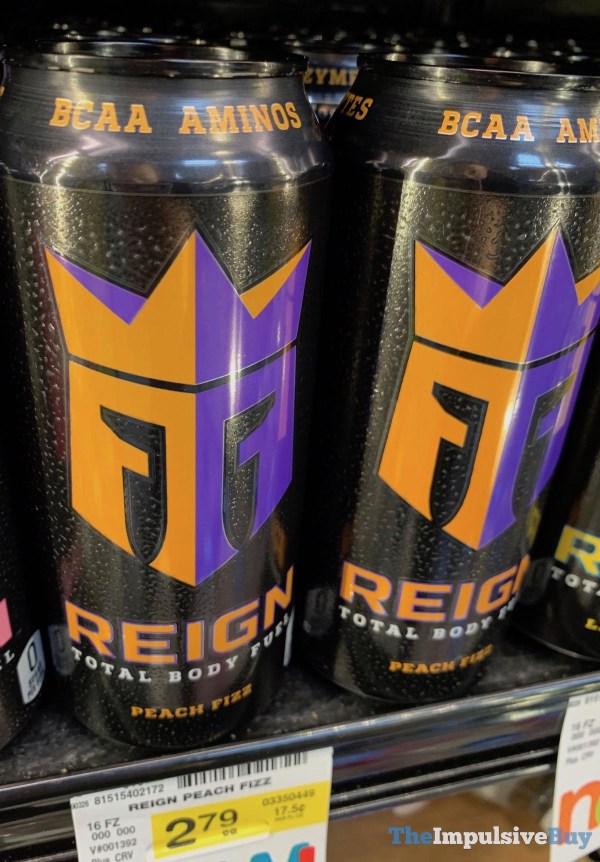 Reign Peach Fizz Total Body Fuel
