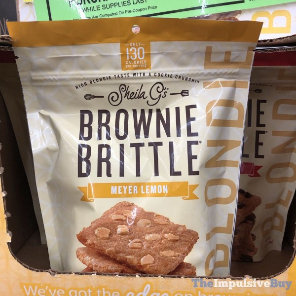 Sheila G s Blondie Brownie Brittle Meyer Lemon