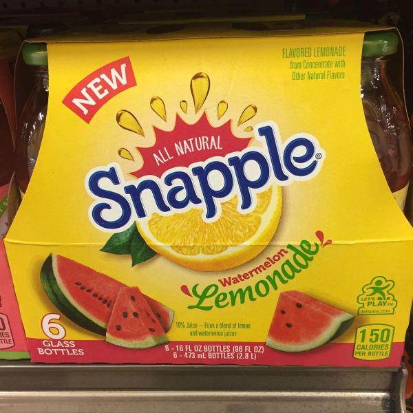 Snapple Watermelon Lemonade 6 Pack