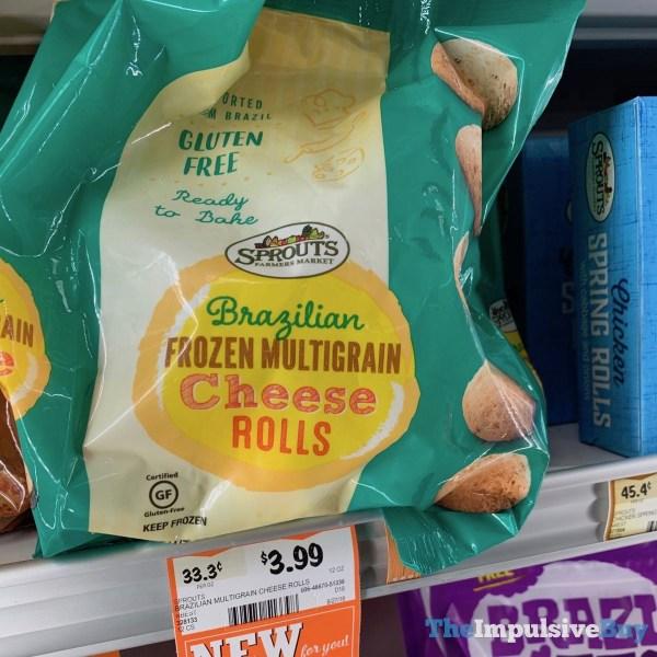 Sprouts Brazilian Frozen Multigrain Cheese Rolls