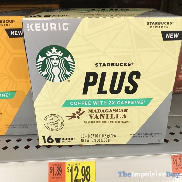 Starbucks Plus Madagascar Vanilla K Cups