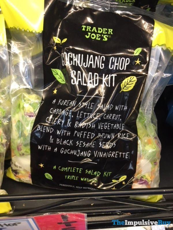 Trader Joe s Gochujang Chop Salad Kit