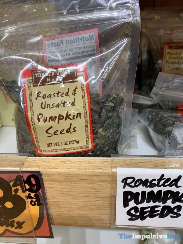 Trader Joe s Roasted  Unsalted Pumpkin Seeds