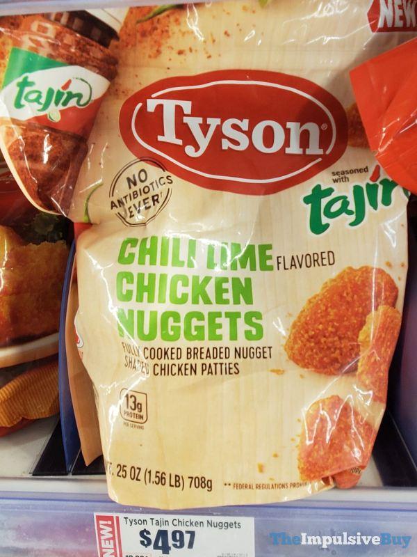 Tyson Tajin Chili Lime Chicken Nuggets