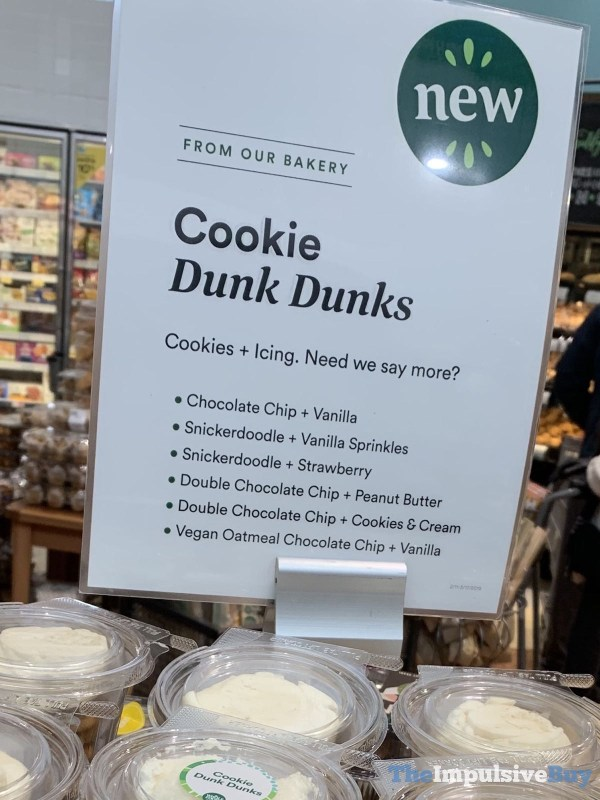 Whole Foods Cookie Dunk Dunks