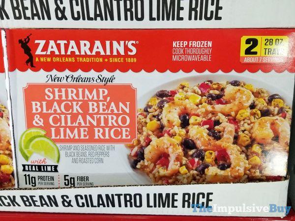 Zatarain s New Orleans Style Shrimp Black Bean  Cilantro Lime Rice